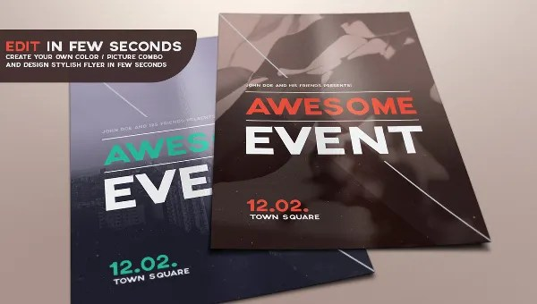 39+ Event Flyers - PDF, PSD, AI, Vector EPS Format Download Free