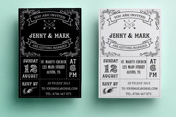 Wedding Invitation Card - 10+ Free PSD, Vector EPS, PNG Format