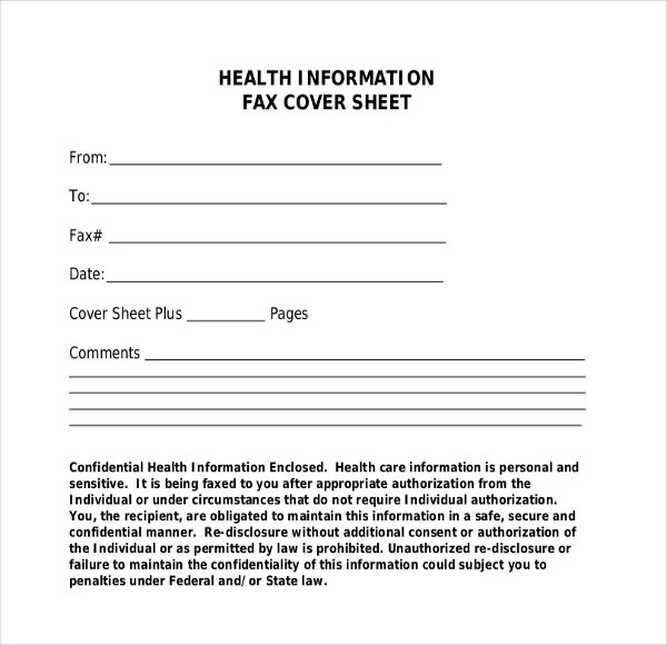 Fax Cover Template \u2013 9+ Free Word, PDF Documents Dwonload Free - fax header template word