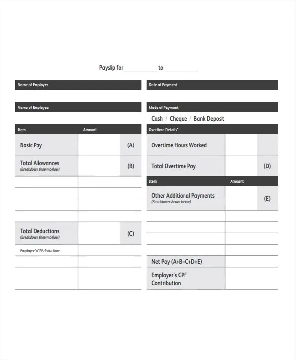 11+ Payroll Templates - Free Sample, Example Format Free - payroll templates free