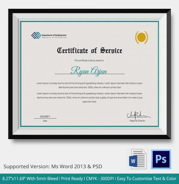 employment service certificate sample - Funfpandroid - employee certificate sample