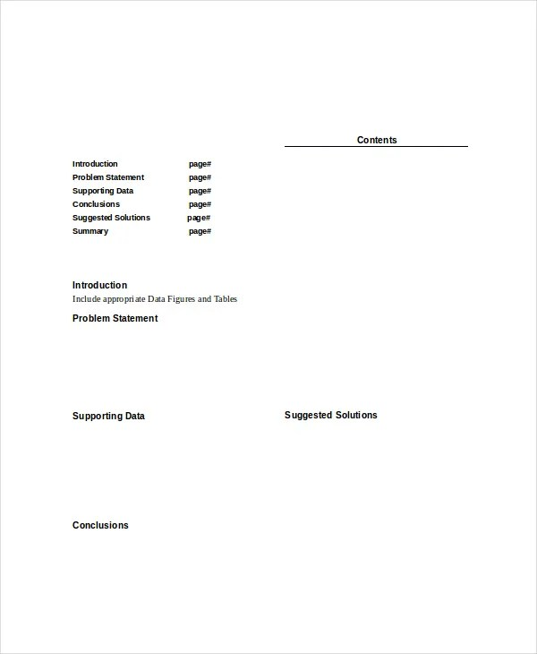 Paper Template - 10+ Free Word, PDF Documents Download Free - white paper templates
