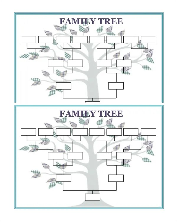 51+ Family Tree Templates - Free Sample, Example, Format Free - family tree example