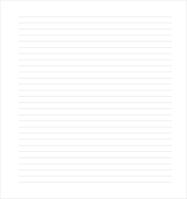 11+ Line Paper Templates - Free Sample, Example, Format Free - lined paper with drawing box
