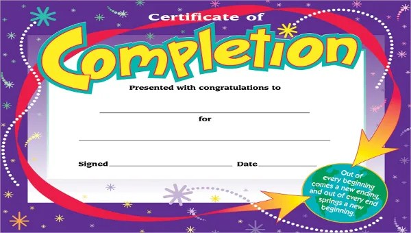 Kids Certificate Template - 12+ PDF, PSD, Vector Format Download
