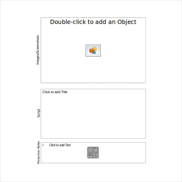 15+ Storyboard Templates - Free Sample, Example, Format Free - digital storyboard templates