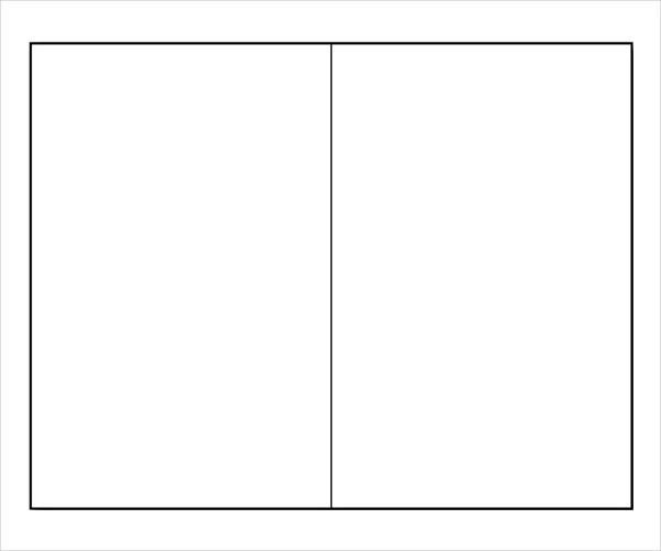 Blank Bi Fold Brochure Templates \u2013 24+ Free PSD, AI, Vector EPS