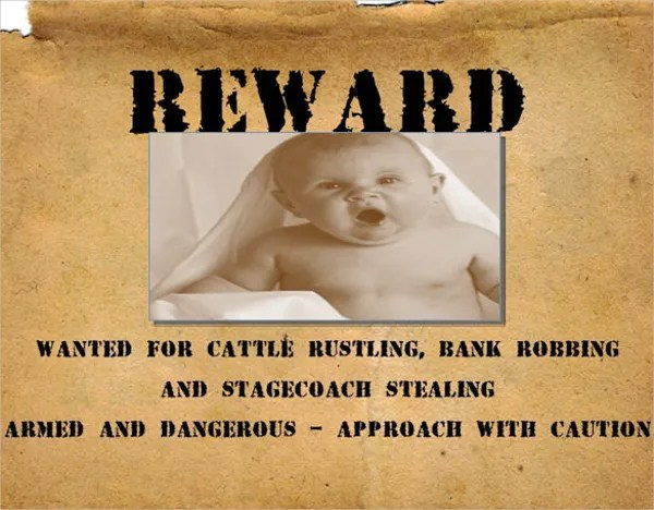 Examples Of Wanted Posters oakandale - example of a wanted poster