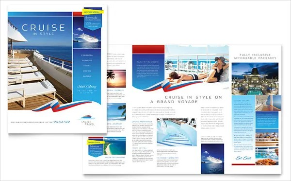 Vacation Brochure Template \u2013 15+ Free PDF, PSD, AI, Vector EPS - Vacation Brochure Template