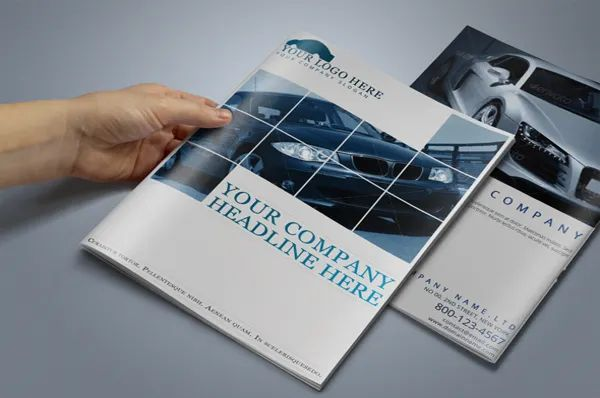 company brochure templates free download