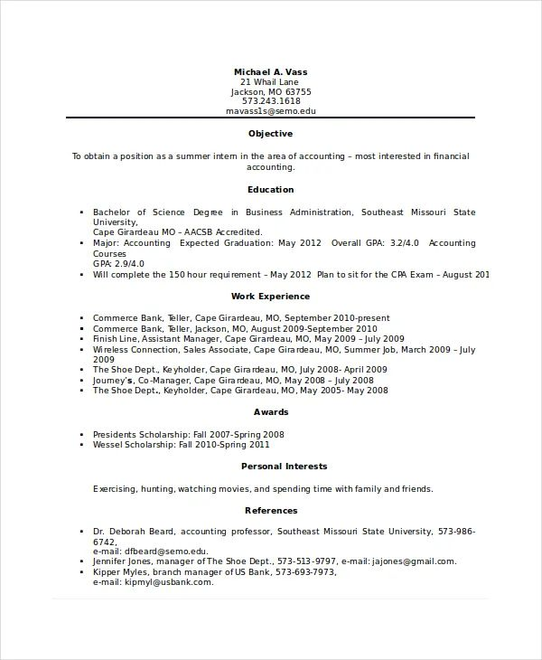 entry level bank teller resume examples