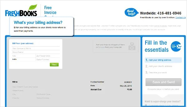 12 Free Invoice Tools to Make you More Professional With Your - free invoice creator
