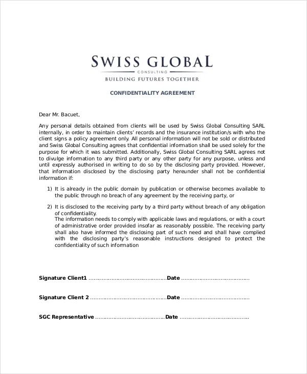 Sample Contractor Agreement Ontario Professional resumes example - contractor confidentiality agreement