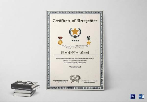 certificate of rank template - Apmayssconstruction