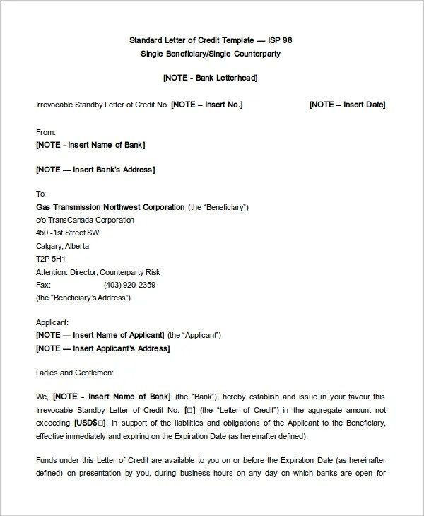 The Salaam Somali Bank All Resumes 187; Format Of Letter Of Credit Free Resume