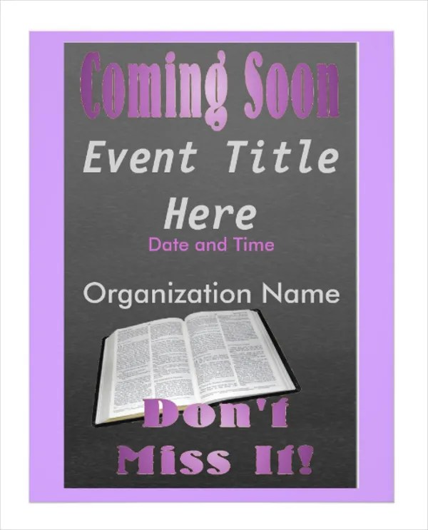 12+ Coming Soon Flyer Templates - Free PSD, AI, EPS Format Download