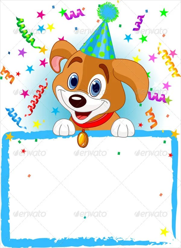 16+ Animal Birthday Invitation Templates - Free Vector EPS,JPEG, Al