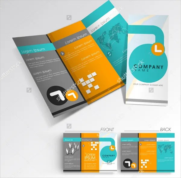 24+ Folded Brochure Templates - Free PSD, AI, EPS Format Download - folded brochure