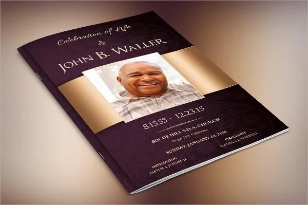 17+ Funeral Brochure Templates - Free PSD, AI, EPS Format Download - funeral brochure template
