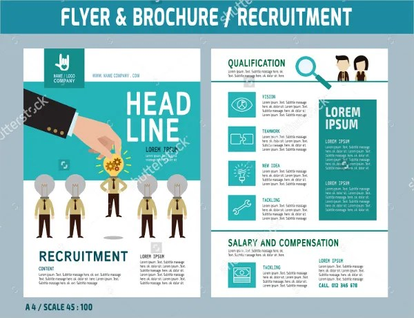 17+ Recruitment Flyers - PSD, AI, EPS Free  Premium Templates