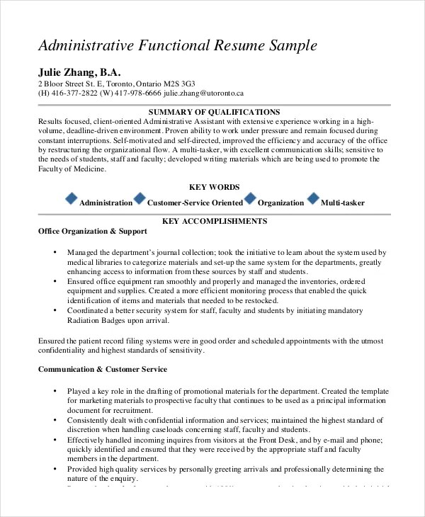 concierge resume example - Towerssconstruction
