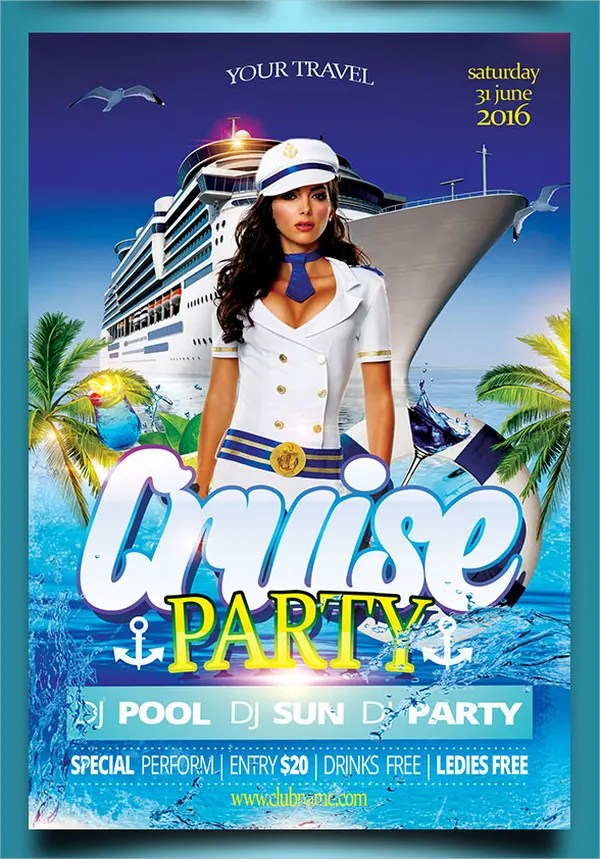 16+ Cruise Flyers - Free PSD, AI, EPS Format Download Free