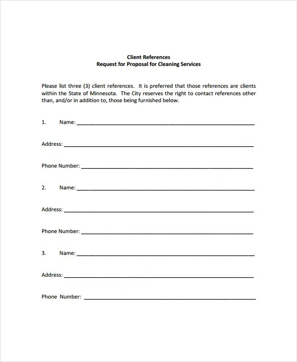 Cleaning Proposal Template - 12+ Free Word, PDF Document Downloads - it services proposal