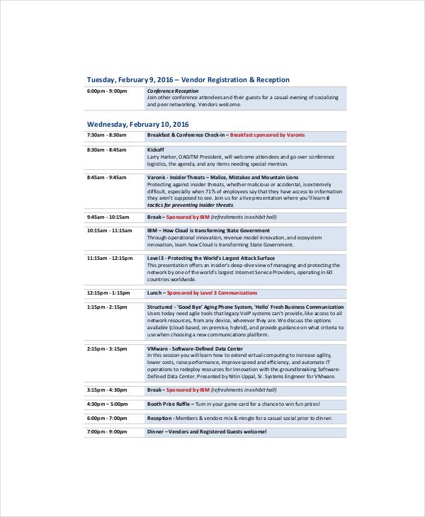 Professional Agenda Template - 5+ Free Word, PDF Documents Download - professional agenda templates