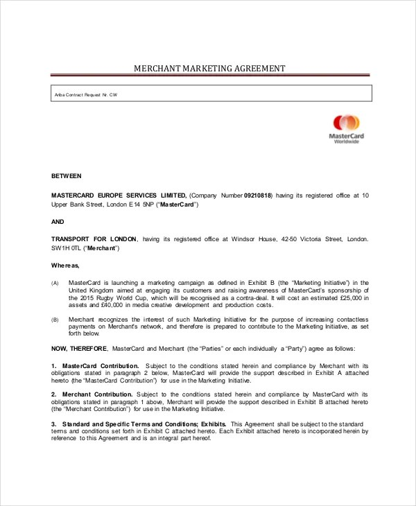 Marketing Consulting Agreement Template - mandegarinfo