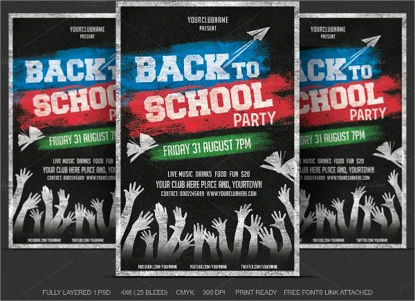22+ Back to School Flyers - Free PSD, AI, EPS Format Download Free - back to school flyers
