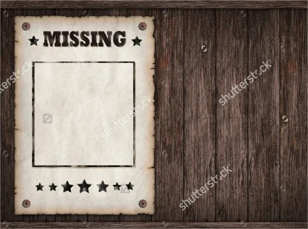 12+ Missing Poster Templates - Free PSD, EPS, AI Format Download - missing poster generator