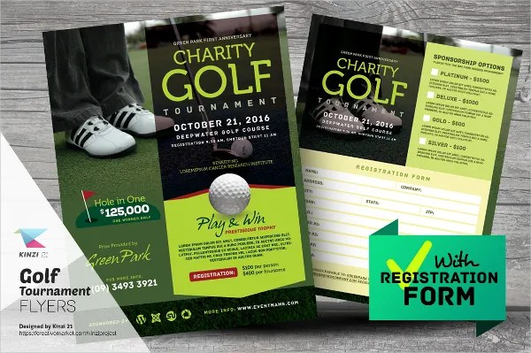 22+ Golf Flyer Templates - Free PSD, AI, EPS Format Download - golf tournament flyer template