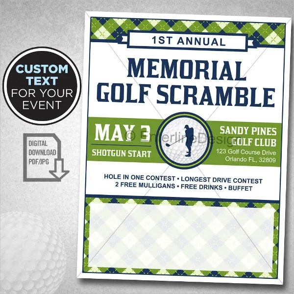 22+ Golf Flyer Templates - Free PSD, AI, EPS Format Download Free