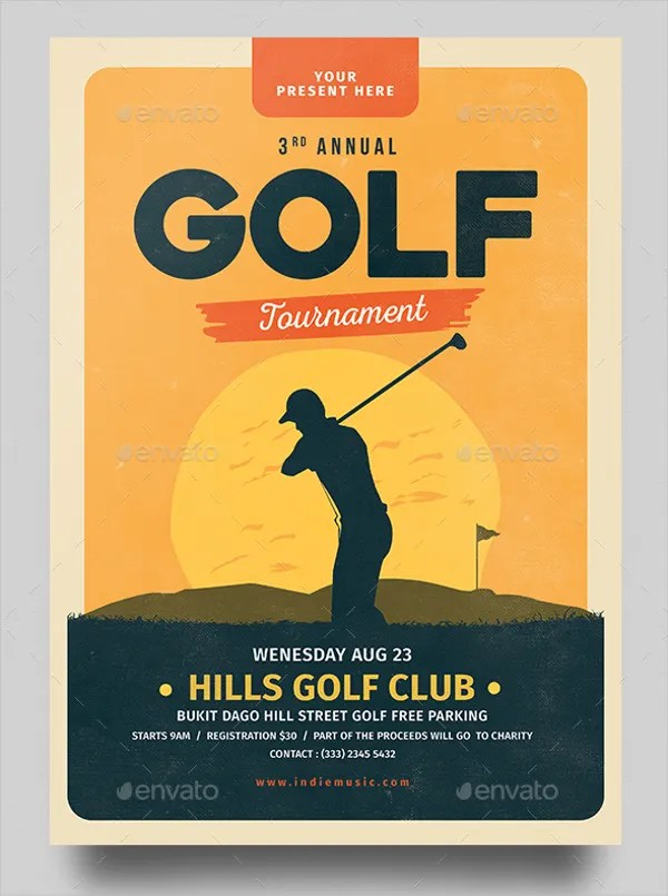25+ Golf Flyers Templates - Word, PSD, AI, EPS Vector Format Free