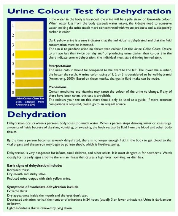 Sample General Color Chart - Design Templates - general color chart template
