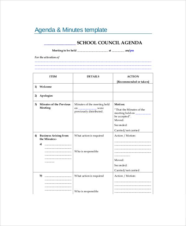 blank agenda form - 28 images - blank meeting agenda template 10