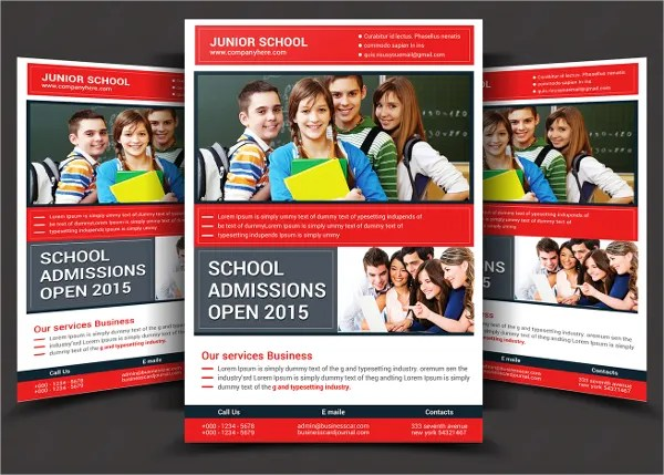 26+ School Flyers - Free PSD, AI, EPS Format Download Free