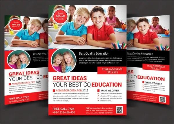 26+ School Flyers - Free PSD, AI, EPS Format Download Free - free school flyer template