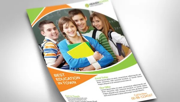 29+ School Flyers Templates - PSD, AI, Pages, Word Free  Premium