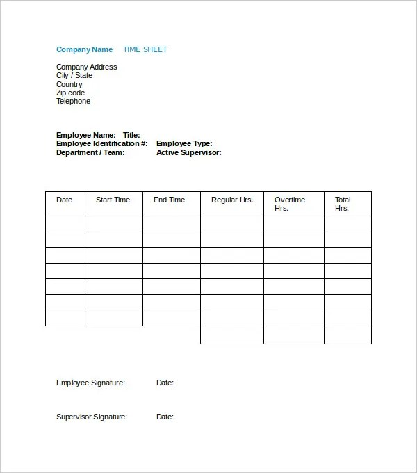 Sample Payroll Timesheet Vertex42 Timesheet Template Timesheet - sample payroll timesheet