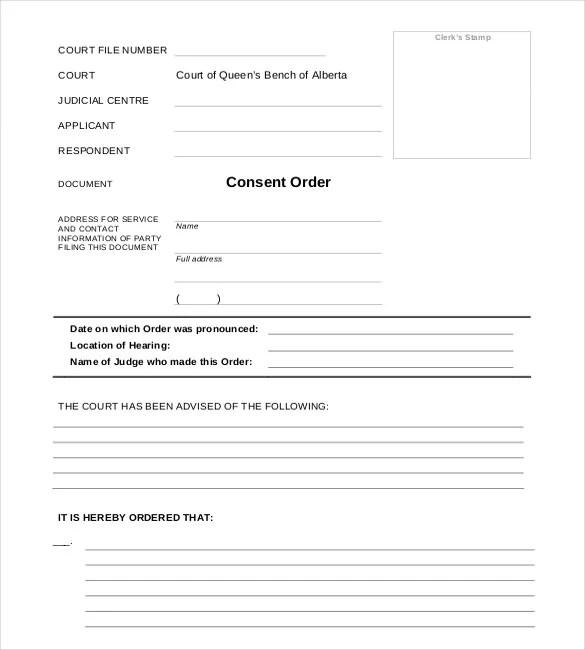15+ Order Templates - Free Sample, Example, Format Free  Premium