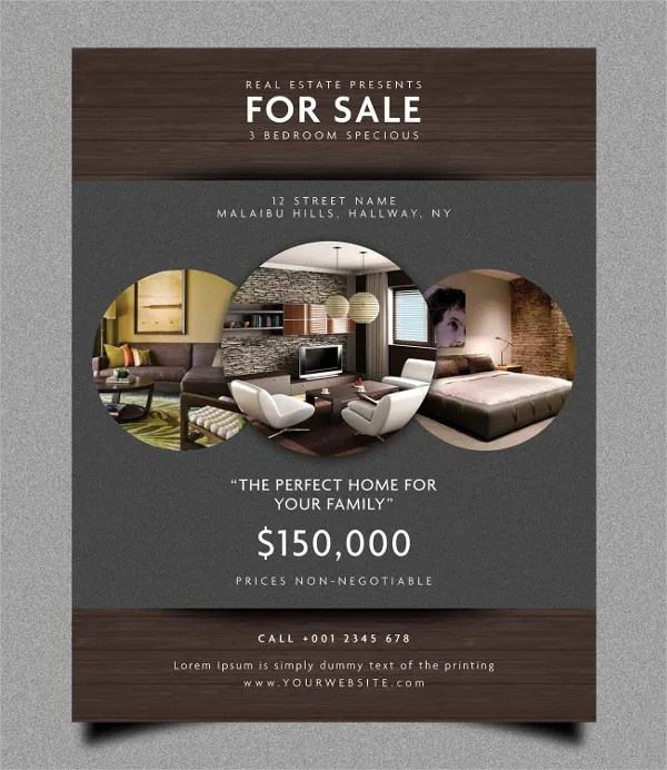 28+ Real Estate Flyer Templates - Free PSD, AI, EPS Format Download
