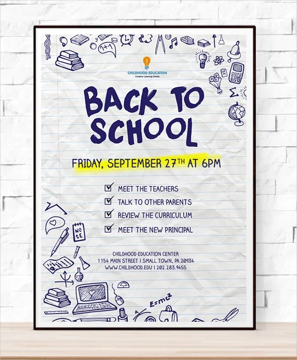 school event flyer template - Flyer Outline