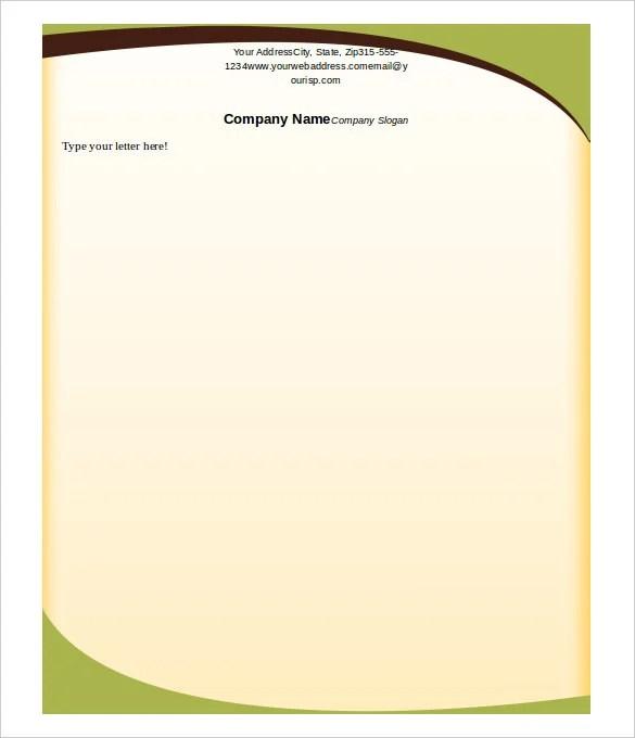 13+ Letterhead Templates - PDF, DOC Free  Premium Templates - free letterhead templates for word