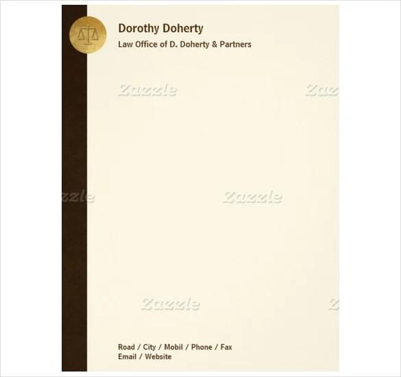 17+ Letterhead Templates - PDF, DOC Free  Premium Templates - make a letterhead in word