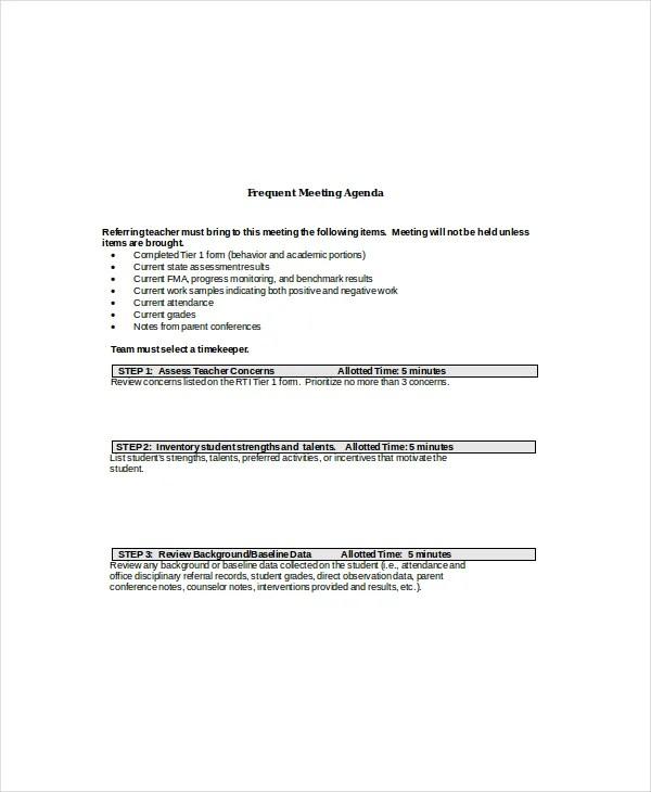 10+ Client Meeting Agenda Templates \u2013 Free Sample, Example Format