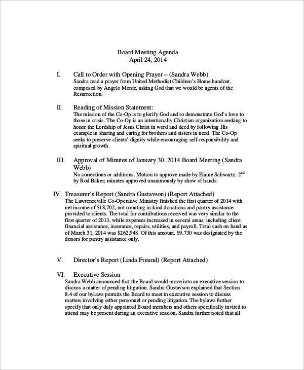 10+ Client Meeting Agenda Templates \u2013 Free Sample, Example Format - political agenda template