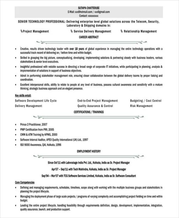 10+ Executive Administrative Assistant Resume Templates \u2013 Free