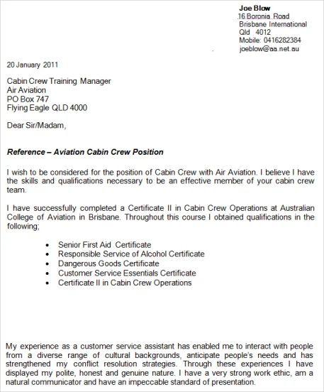 flight attendant resume templates