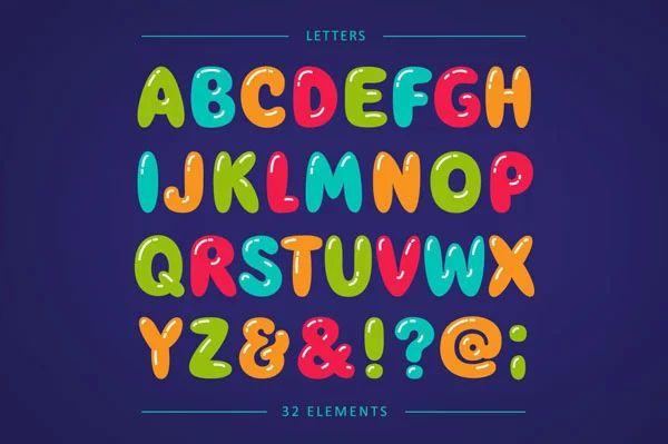 bubble letters printable